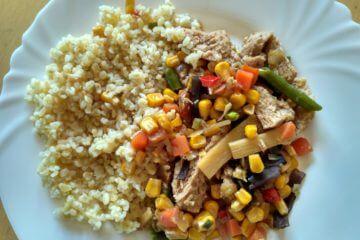 Vegetariánska čína bez mäsa