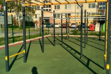 Workoutové ihrisko v Dubnici