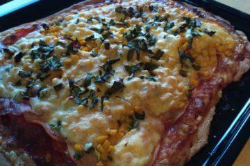 Zdravá pizza zo špaldovej múky