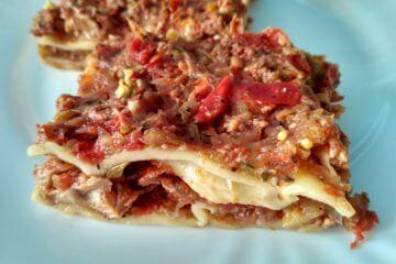 Cuketové lasagne so zeleninou