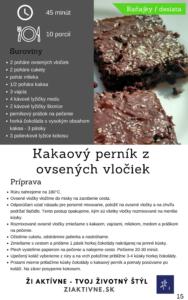 Ebook 15 receptov z ovsených vločiek - ukážka sladké jedlo