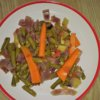 Dusená zelenina s cibuľkou
