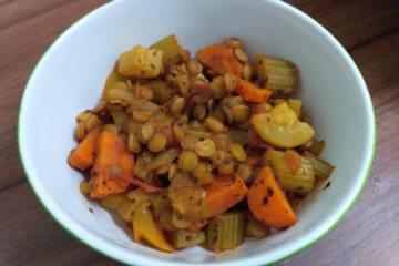 Zeleninové ragú na bolonský spôsob