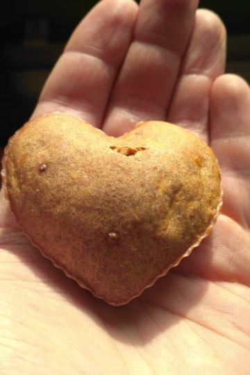 Jablkové muffiny - celozrnné