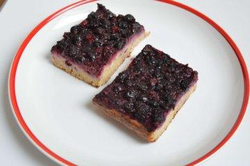 Tvarohový koláč s ovocím