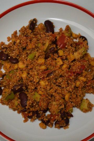 Quinoa na mexický spôsob