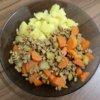 Mleté bravčové mäso so zeleninou a zemiakmi