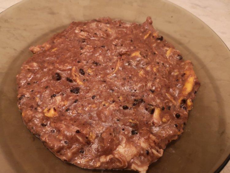 Kakaová raňajková lowcarb kaša