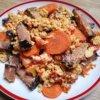 Lowcarb moravské mäso so zeleninou