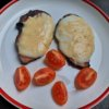 Zapekané moravské mäso s mozzarellou