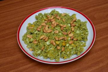 Lowcarb praženica s arašidmi