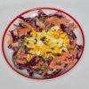 Šalát z červenej kapusty s mrkvou