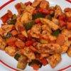 Zeleninová zmes s kuracím mäsom