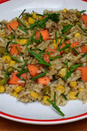 Treskové rizoto so zeleninkou