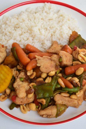 Čína s konjakovou ryžou